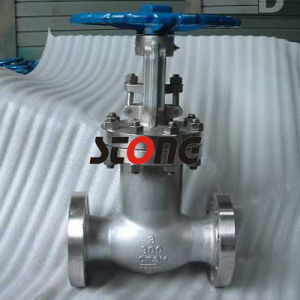 ANSI Cast Steel Bellow Seal Globe Valve pictures & photos