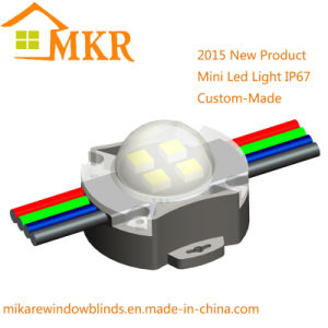 DMX RGB LED Pixel Light IP67 3W LED DOT Decoration Facade Light (FX-DGY-002)