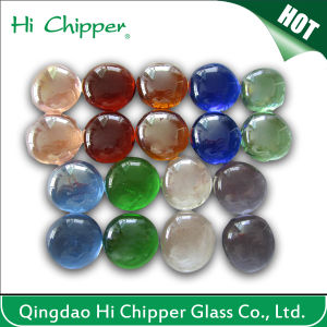 Clear Glass Gemstone Cashew Shape Fire Pit pictures & photos