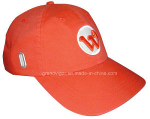 Medium Cotton Drill Baseball Cap with Glasses Grommet pictures & photos