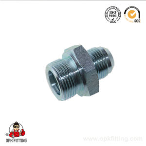 1jn CNC Machinery Carbon Steel Hydraulic Jic NPT Adapter pictures & photos