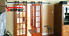 Heavy Duty Stainless Steel Glass Sliding Barn Door Hardware pictures & photos