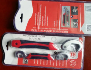 Double Blister Card Universal Wrench Tool Set 9-32mm pictures & photos