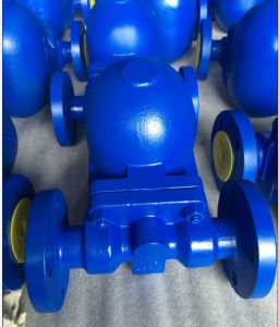 Cast Steel Ball Float Steam Trap Flange End pictures & photos