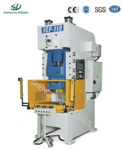 Ce 2500kn Single Action Frame Open High Precision Press Machine pictures & photos