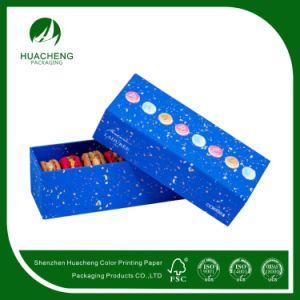 Macaroon Biscuit Retail Paper Packaging Box (HC0235)