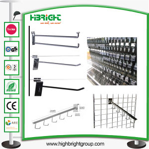 Metal Wall Hook Chrome Plating Wall Display Hook pictures & photos