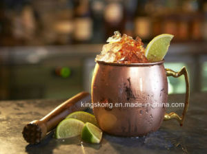 100% Copper Aussie Mule Hammered Mug pictures & photos