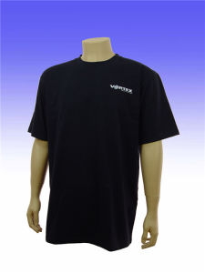 Custom Top Quality Cotton Plain T Shirt with Round Neck pictures & photos