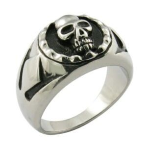 Stainless Steel Ring Metal Finger Skull Ring pictures & photos