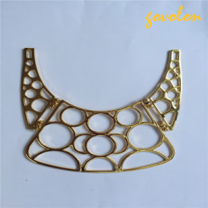 New Golden Plated Alloy Neckline pictures & photos