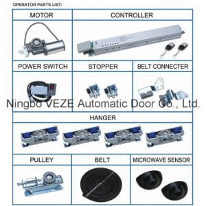 Electric Sliding Door Operators with Round Motor pictures & photos