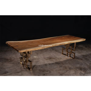 (SL-8304) Hotel Restaurant Home Dining Furniture Solid Wood Dining Table pictures & photos