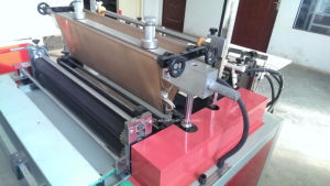Single Channel No-Stretching Bag Making Machine with SGS Approval pictures & photos