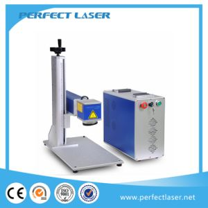 Aluminum Gold Silver Fiber Laser Marking Equipment pictures & photos