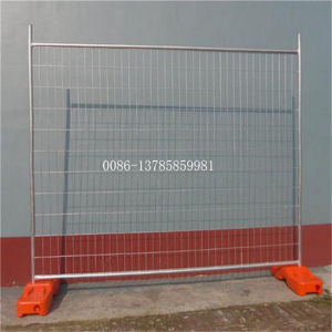 Hot Dipped Galvanized Removable or Portable Temporary Construction Fence Panel pictures & photos