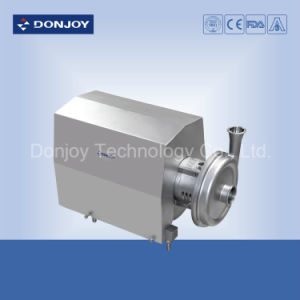 Stainless Steel Impeller Centrifugal Pump with ABB Motor for Dairy pictures & photos