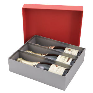 Highend Printing Folding Paper Wine Box pictures & photos