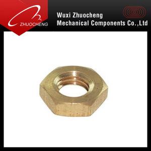 Hexagonal Brass Fastener Nut pictures & photos