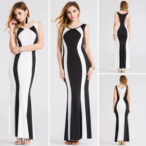 New Summer Fashion Stitching Color Striped Dresses CH899 pictures & photos