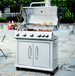 Full Stainless Steel 2/3/4/5/6 Burner BBQ Grill Gas pictures & photos