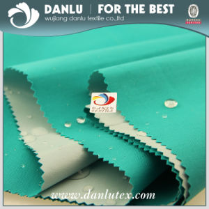 TPU Coated Gabardine Fabric Price Composition for Coat pictures & photos