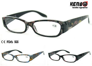 New Fashion Reading Glasses with Flora Pattern Kr5186 pictures & photos
