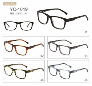 in Stock Fashion Hot Selling New Design Acetate Eyeglasses Optical Frames pictures & photos