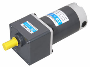 90mm 90W DC gear motor, GN type, GU type pictures & photos