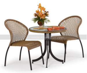Mtc-235 PE Wicker Furniture Kd Table Outdoor Rattan Table pictures & photos