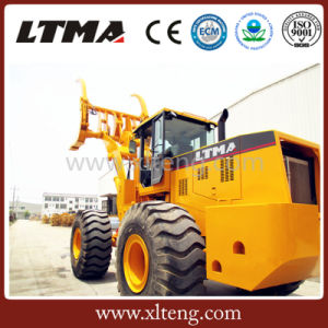 Ltma Good Quality 8 Ton Big Sugar Cane Grab Loader pictures & photos