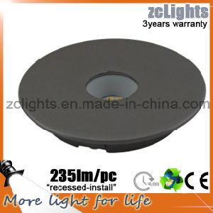 Die-Cust Aluminium 3W LED Kitchen Light Recessed LED Cabinet Light 12V 3W LED Cabinet Light