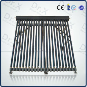 Aluminum Manifold Heat Pipe Solar Collector with Solar Keymark En12975 pictures & photos