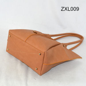 Fashion Promotion Tote Lady Women Leather PU Handbag Zxl009 pictures & photos
