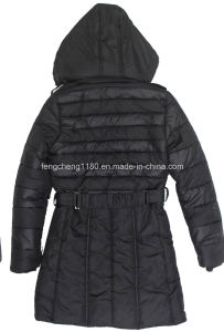 Women′s Winter Padding Jacket/Coat with Detachable Hooded pictures & photos