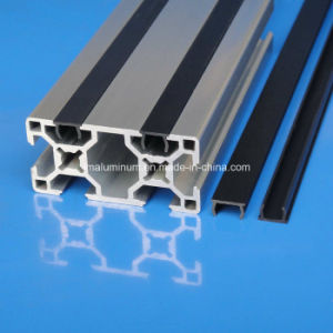 Slot 8mm PVC Flat Cover Profile Strips pictures & photos