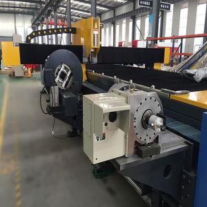 500W 1000W CNC Fiber Metal Pipe Laser Cutting Engraving Machine pictures & photos