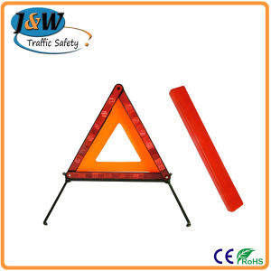 European ECE R27 Standard Foldable Roadway Warning Triangle pictures & photos