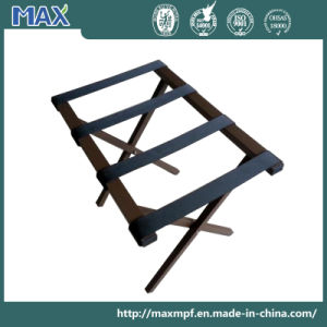 Brown Color Powder Coated Hotel Luggage Stand pictures & photos