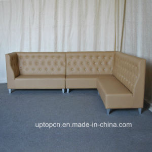 Commercial Luxury Leatherette Resultant Sofa Seating (SP-KS293) pictures & photos