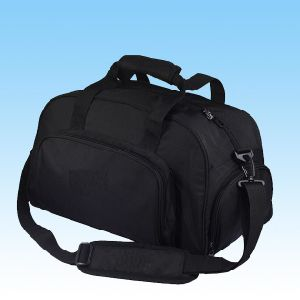 Fashion Black Portable Travel Duffel Bag for Outdoor Sport pictures & photos