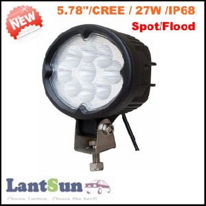 27W Oval LED Work Light for Jeep Offroad 4X4 pictures & photos