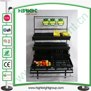 Supermarket Banana Display Stand and Rack pictures & photos
