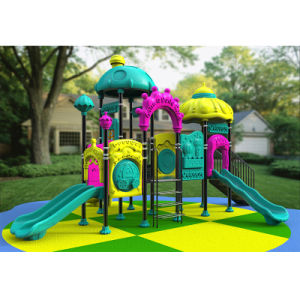 Outdoor Playground--Magic Paradise Series, Children Outdoor Slide (XYH-MH0020) pictures & photos
