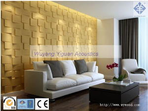 3D Interior Decorative Cladding Wall Panel (NO. 66 GFMS21mm) pictures & photos