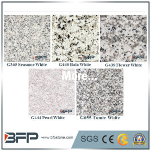Polished Chinese Stone Granite Floor Tile for Interior Flooring/Wall/Top in White Color pictures & photos