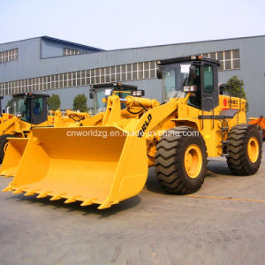 5ton Wheel Loader with Rock Bucket for Quarry Working pictures & photos