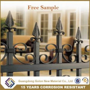 Permanent Spear Top Iron Yard Fencing pictures & photos