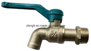 Brass Nature Colour or Chromed Plated Brass Water Taps pictures & photos