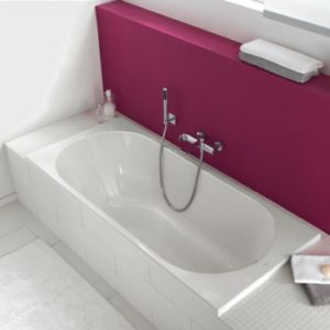 European Style Pure Acrylic Square Freestanding Simple/Common Hot Bathtub